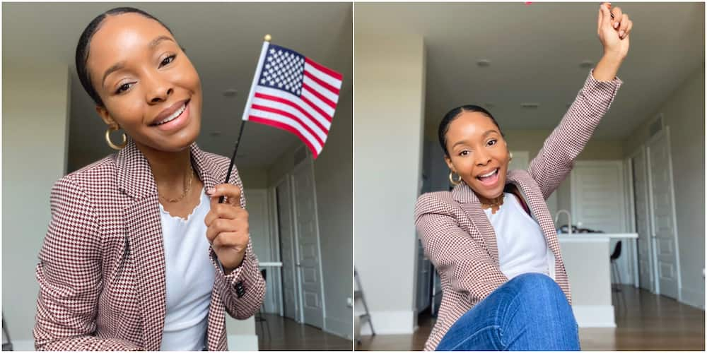 Liana Allen is officially a citizen of the United States