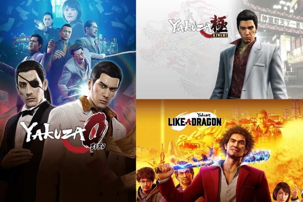 best yakuza games