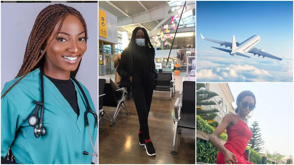 Nigerian nurse relocates to UK, says country's evil to her is enough