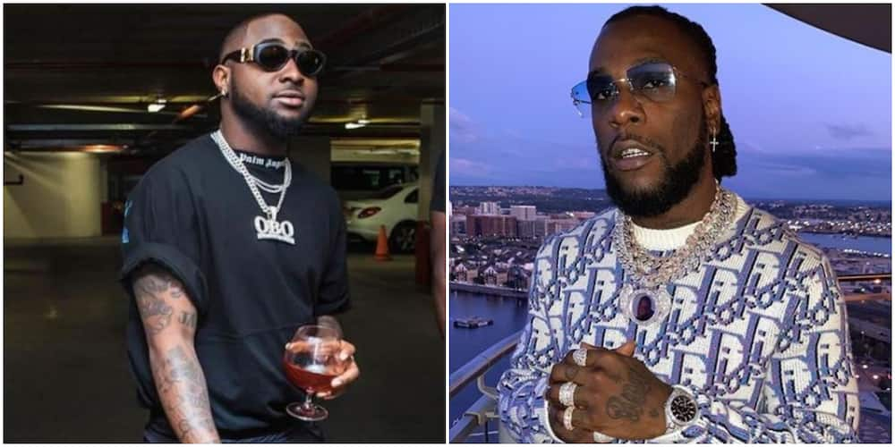 Davido and Burna Boy reportedly get physical in Ghana