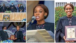 Nigerian lady breaks University of Ibadan record, becomes youngest ever matriculation speaker