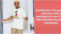 Visit your wife's workplace to be sure your kids don't resemble her colleague - Pretty Mike advises men