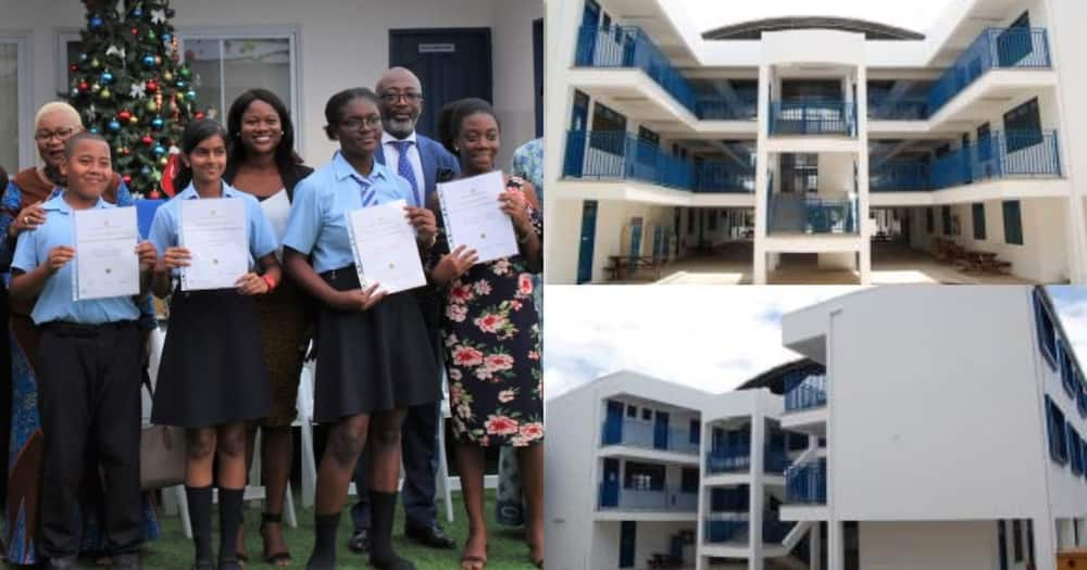 School in Accra where students pay N1.4 million as admission fee generates reaction, goes viral