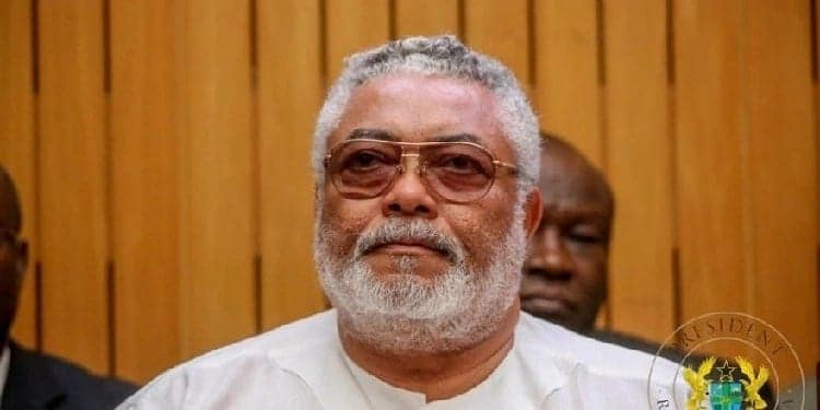 A picture of the former President. Photo source: Ghanaian Govt