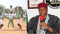 Video captures Nigerian governor saying NYSC should be 2 years so that corps members can handle guns