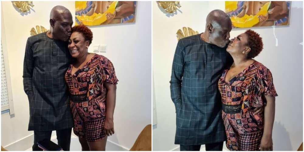 Happy birthday to my permanent husband: Burna Boy's mother celebrates husband