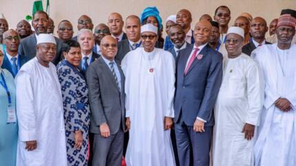 Breaking: Senate adjourns plenary for members to attend APU as Buhari declares meeting open
