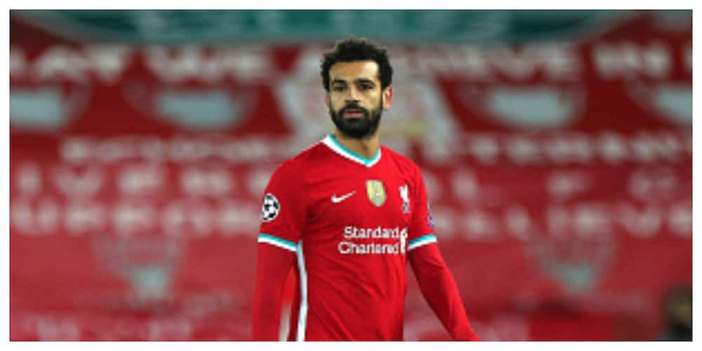 Mohamed Salah spotted limping into dressing room after Midtjylland win