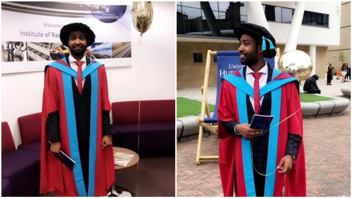 Meet Bello Sambo Bello, young Nigerian engineer, who bagged his PhD at age 30