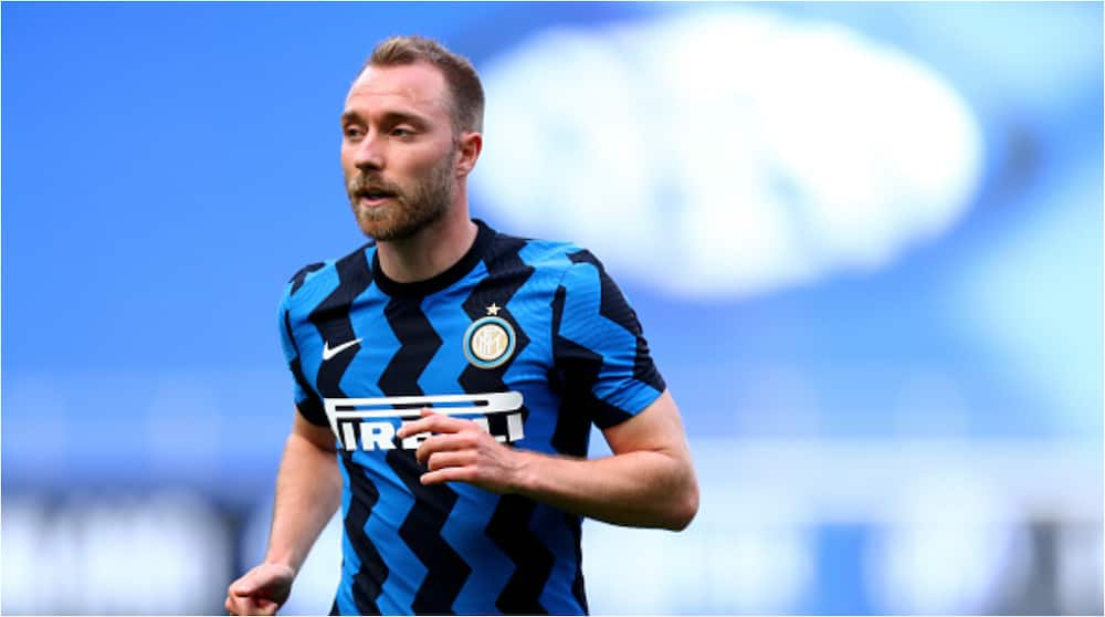 Jubilation as Inter Milan star who develop heart problems at Euro 2020 returns to training