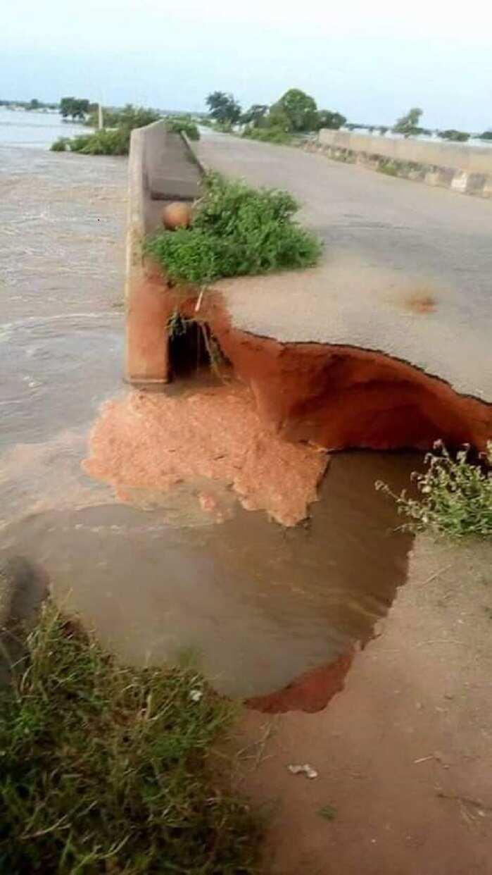 Hotuna: Ambaliyar ruwa ta kashe mutum 4 a Zamfara, ta kwashe gada a Sokoto