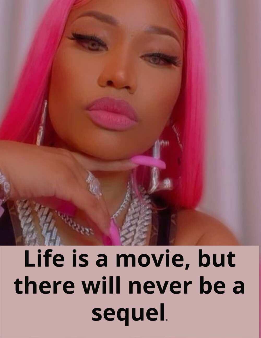 Nicki Minaj kutipan tentang pembenci