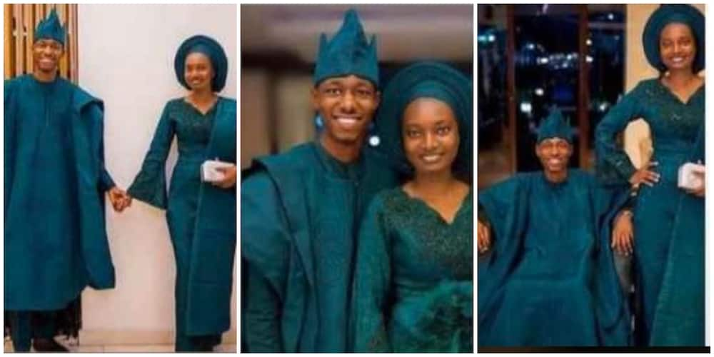 Photos of Beautiful Bride who Got Married Without Any Make-up Tear Nigerians apart on Social Media