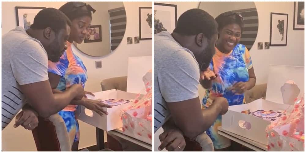 Actress Mercy Johnson and husband plan surprise birthday for their daughter while she's in school