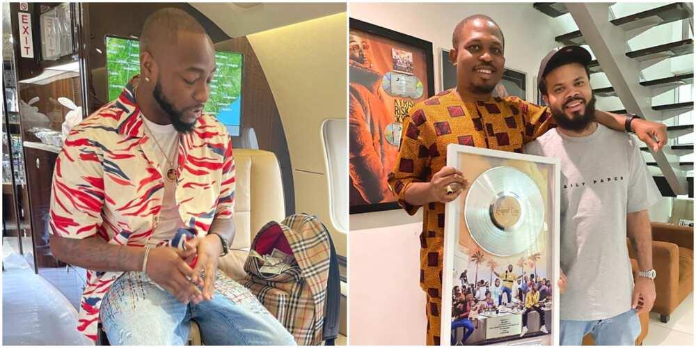 Davido's 10th Anniversary: Thanks for the Verse Big Bro, Singer Appreciates Naeto C for Putting Him On