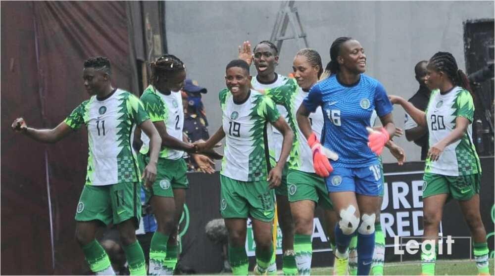 Monday Gift Nets Brace As Super Falcons of Nigeria Defeat Mali in Aisha Buhari Cup Opener