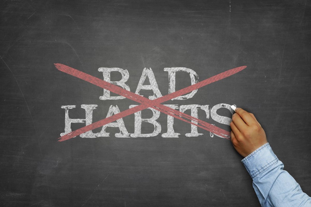 how to get rid of bad habits ted