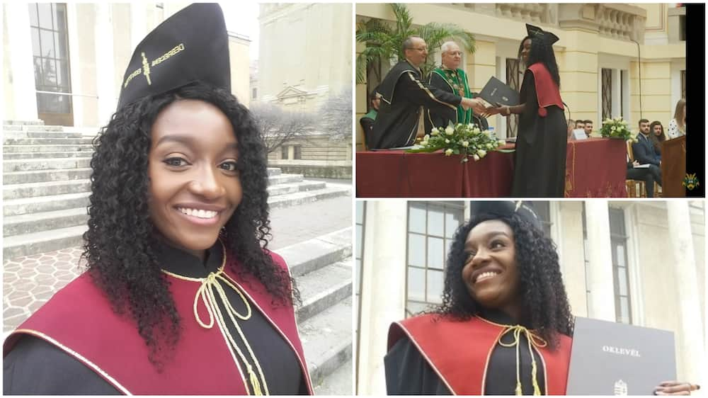 Nigerian Amarachi Osuji said she had to think about her decision before she switched course.
