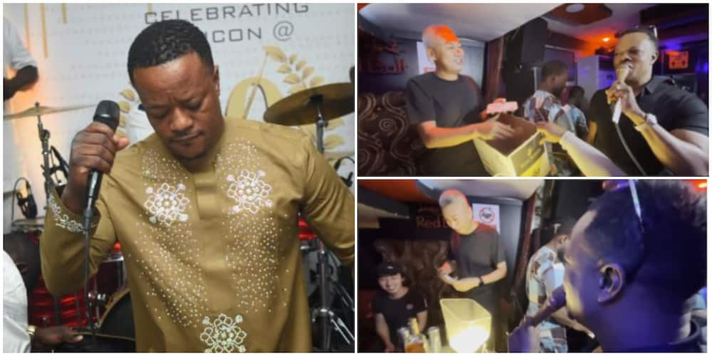 Gospel singer Lanre Teriba shuns baby mama, posts performance video.