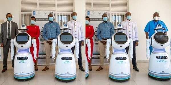 Coronavirus: Rwanda deploys robots in COVID-19 fight
