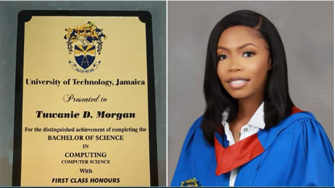 'I came, I saw, I conquered' - Lady expresses excitement as she bags first class degree honour in grand style
