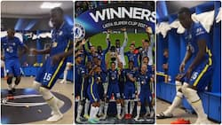 Chelsea stars Zouma and Rudiger sing and dance to Tekno's hit song after winning Super Cup