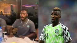 Stunning video of Iheanacho leading Super Eagles in praise and worship after win over Liberia emerges