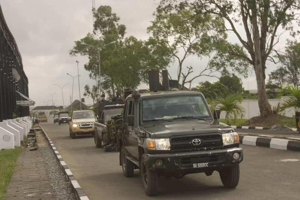 Fargabar kawo hari: An tsaurara matakan tsaro a Abuja da kewaye