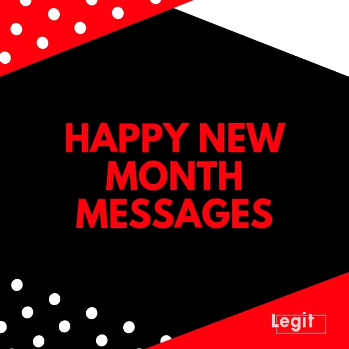 50 happy new month messages, wishes, prayers and quotes
