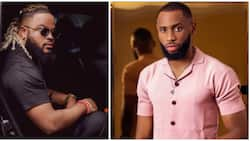 BBNaija: Whitemoney's mother thanks Emmanuel for being a good friend to her son in the house