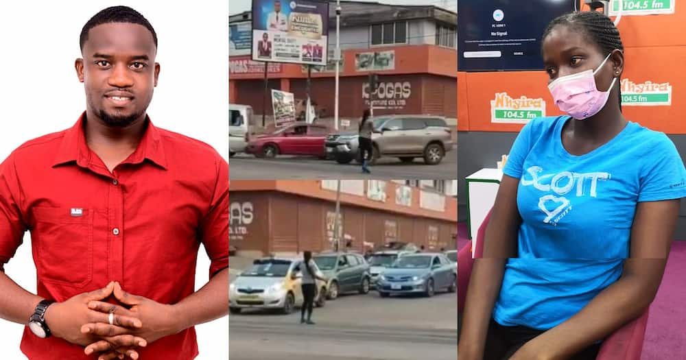 Pure Water Seller Who Directed Traffic In Kumasi Gets Sponsorship To School