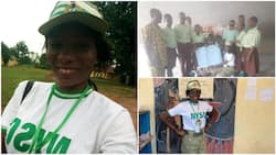Corps member refuses to spend 1st allowance on herself, she took it to market and bought gifts for the blind