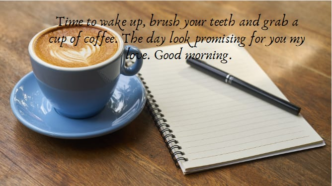 good morning my love quotes for your better half