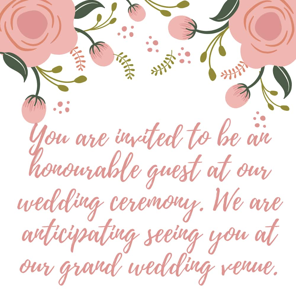 Best Wedding Invitation Sms For Friends Amazing Ones To Use