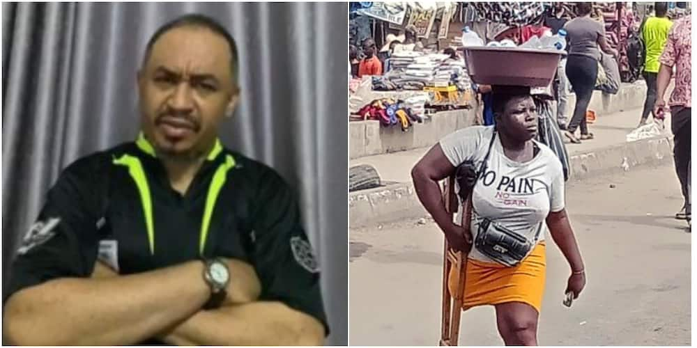 Daddy Freeze and the amputee hawker