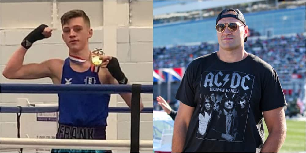 Tyson Fury pays tribute to teenage boxer who drowned in river while cooling off from the heat