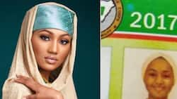 President Buhari's daughter Zahra completes NYSC program, photo spotted inside the brochure
