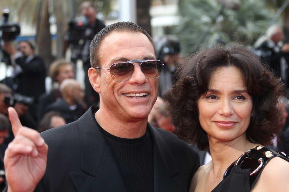 Jean-Claude Van Damme spouse
