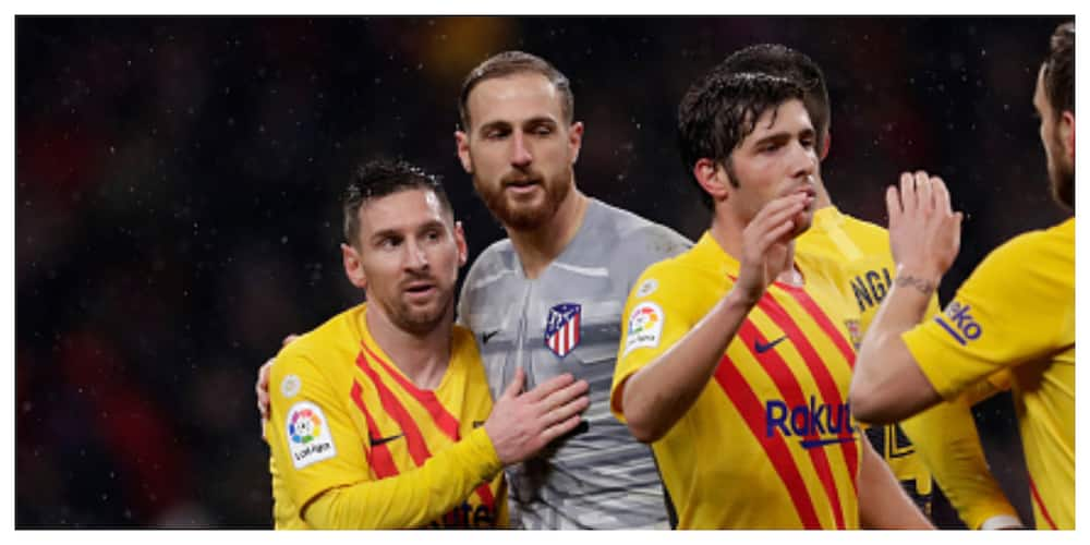 Lionel Messi: Oblak congratulates Barca star, says he will not stop scoring