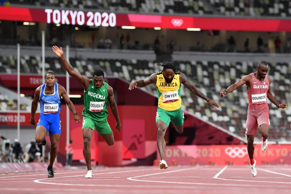 Nigeria's medal hopeful at Tokyo 2020 fails to advance to final of 200m men's race despite finishing 3rd