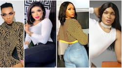 5 Nigerian cross-dressers tensioning ladies with their beauty (photos)