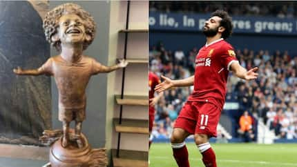Salah sends important message to sculptor who designed his viral statue in Egypt
