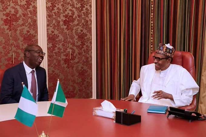 Edo election: Obaseki hails Buhari for ensuring INEC independence