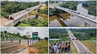 Fashola shares beautiful photos of newly built bridge in Cross River, it links Nigeria to another country