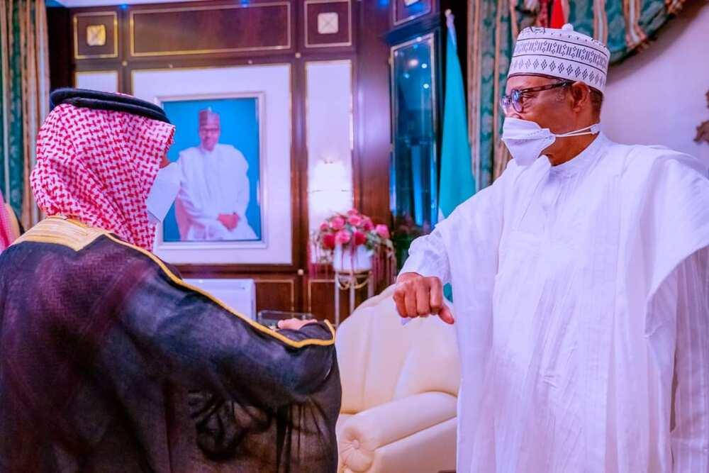 Shugaba Buhari ya gana da ministan harkokin waje na Saudiyya