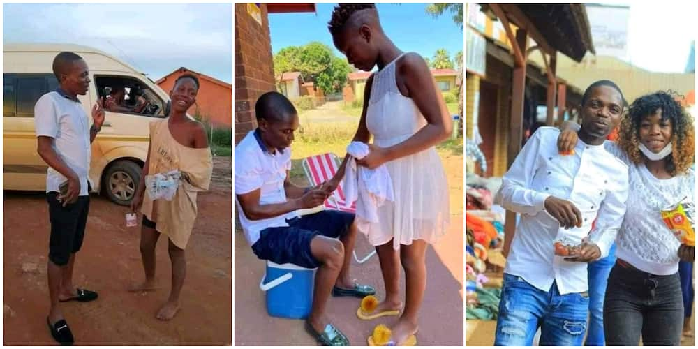 Man Set to Marry Homeless Lady who Had Begged Him N1200 on the Street to Buy Food, Fixes Wedding Date
