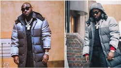 Nigerian superstar Davido steps out looking expensive in London