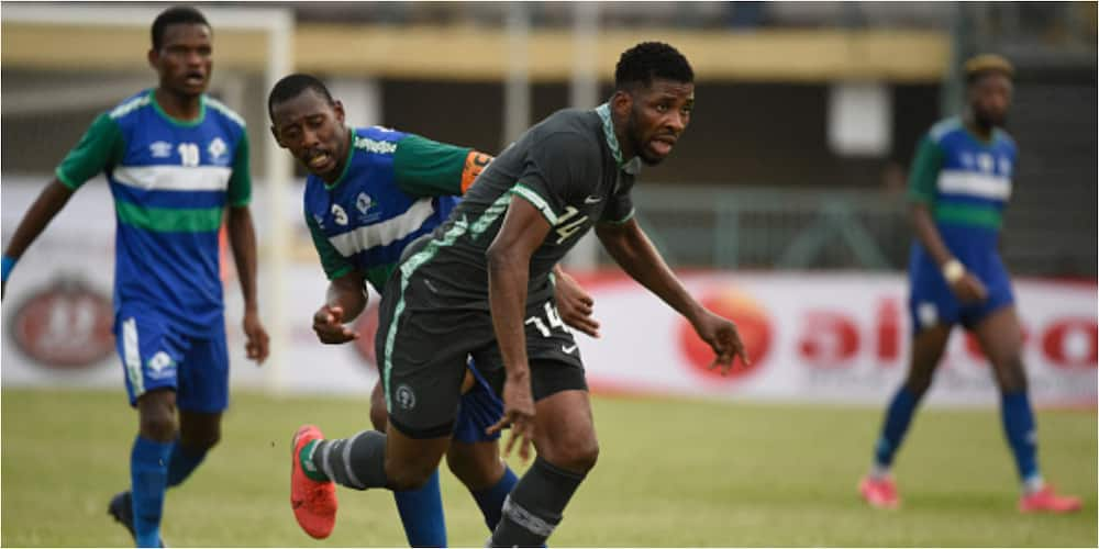 Super Eagles star Iheanacho reveals why he failed to score in AFCON qualifiers despite his form for Leicester