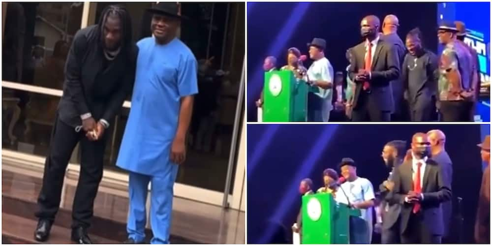 Getting His Coins: Rivers Governor Gifts Burna Boy Land, Money to Build, Other Artistes Get N10M Each