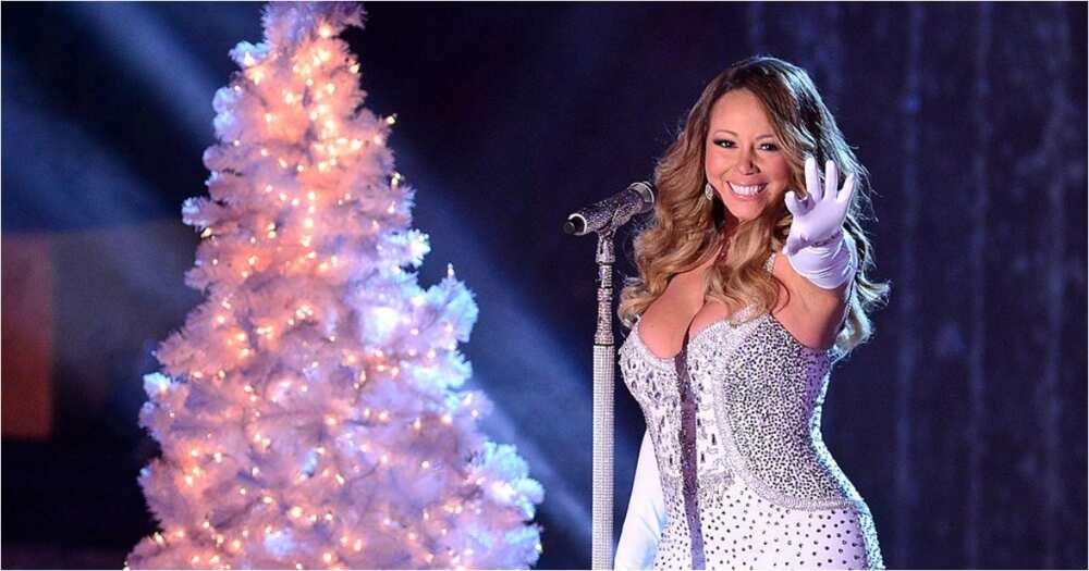 Ariana Grande, Jennifer Hudson join Mariah Carey for Christmas special